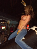Mechanical Bull Flashing 25