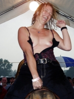 Mechanical Bull Flashing 29