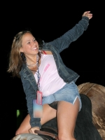 Mechanical Bull Flashing 04