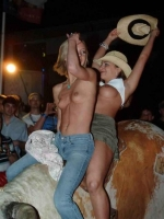 Mechanical Bull Flashing 11