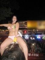 Mechanical Bull Flashing 13
