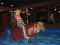 Mechanical Bull Flashing 24
