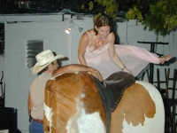 Mechanical Bull Flashing 31