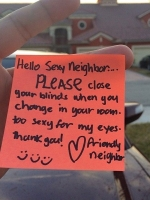 Messages To Neighbours 05