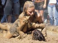 Mud Wrestling 11