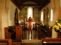 Naked In Church 16