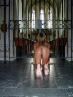 Naked In Church 17