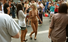 Nude In Public 02