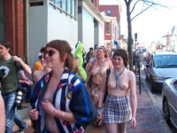 Nude Protesters 12