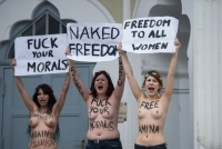 Nude Protesters 14