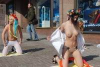 Nude Protesters 18