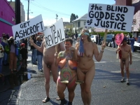 Nude Protesters 26