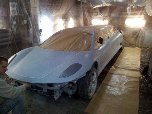 Peugeot 406 To Ferrari Limo 07