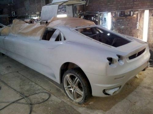 Peugeot 406 To Ferrari Limo 09