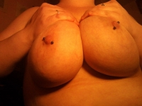 Pierced Nipples 13