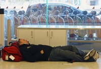 Sleeping In The Airport 01