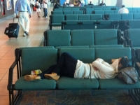 Sleeping In The Airport 02