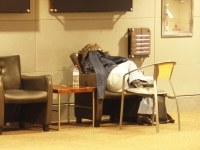 Sleeping In The Airport 04