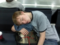 Sleeping In The Airport 05