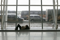 Sleeping In The Airport 06