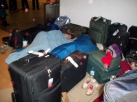 Sleeping In The Airport 08