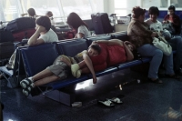 Sleeping In The Airport 10