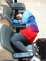 Sleeping In The Airport 13