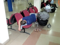 Sleeping In The Airport 15
