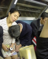 Sleeping On The Subway 25