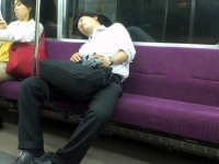 Sleeping On The Subway 28