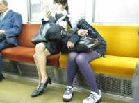 Sleeping On The Subway 29