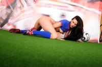 Soccer Girls Costa Rica