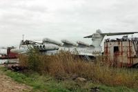 Soviet Ekranoplan 63