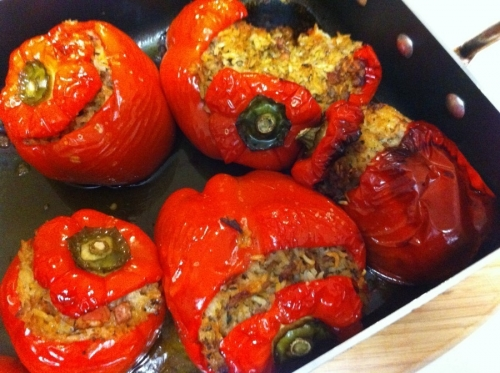 Stuffed Capsicums 04