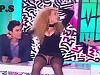 Afida Turner Flash's Her Gash On A French TV Show