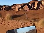 Aftermath Of The Iron Ore Train Derailment In Western Australia
