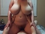 Chubby Wife Gets On Top And Rides Hard