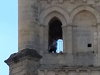 Couple Bang One Out Atop An Old Church Tower In France