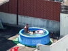 Couple Banging In An Inflatable Pool Above Their Apartment Until They Get Sprung