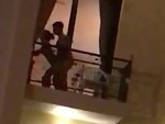 Couple Watched Doing It On The Hotel Balcony