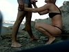 Honeymooner Couple Find A Secluded Beach To Fuck On