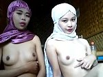 Muslim Camgirls Rubbing Their Bits Naked