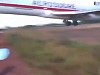Amazing Footage Of Boeing 727 Crash In Colombia