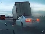 Audi Superbly Ruins A Truck Drivers Day