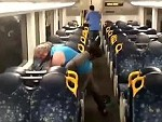 Aussie Train Fight Has A Happy Ending