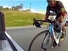 Badass Cyclist Slipstreaming At Almost 150kmh