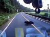 Bear Nailed By Car At Highspeed And Just Runs Away