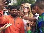 Blonde Girl In India Fucking Hell