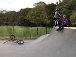 BMX Half Piper Meant To Do That