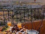 Breakfast And Hot Air Balloons In Cappadocia Turkey